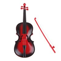 Wholesale Red kids Educational Creative Gift Toys Simulation Led Violin Musical Toy NIVE order lt no track