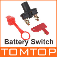 Wholesale Universal Car Truck Vehicle Battery Disconnect Cut Off Rotary Switch Brass Terminals Vehicle Tool Accessory