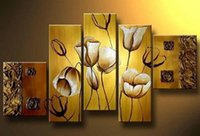 artwork texture - Hand painted Texture Oil Painting On Canvas Classical Abstract Flowers Modern Paintings Picture Unique Home Decor Artwork