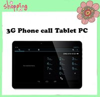 Wholesale Newest inch Android G Phone call Tablet PC Quad core MTK6572 G Ram G Rom GPS bluetooth Dual Camera Tablets with SIM Phablet