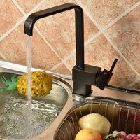 Wholesale Oil Rubbed Black Bronze Swivel Kitchen Sink Faucet Mixer Tap Basin Faucets