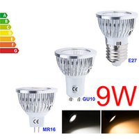 Wholesale Led Spotlight Lamp CREE High Power W GU10 E27 MR16 Warm Cool White Dimmable Non Dimmable Led Bulbs Downlight AC V V pc