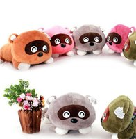 Wholesale Hot Selling Cute Little Raccoon Stuffed Animals Toys Plush Dools Gifts For Birthday Gifts Children Plush Toys CM K298