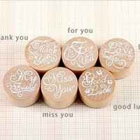 album photo pc - DIY Blessing Thank you Vintage Words Stamp Wooden Stamps for Scrapbooking Decoratiion Photo Album