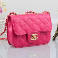 Wholesale 4 color Princess inclined bag Child bags messenger bag girls small sachets small lovely portable bag