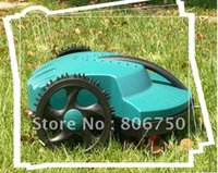 lawn mower - 100m Virtual Wire Robot Lawn Mower with Lead acid Battery Auto Recharge Robot Grass Cutter Garden Tool Mower
