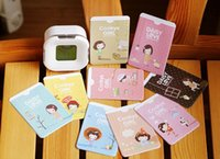 public - Cartoon card set The public transportation card sleeve clamp Creative Home Furnishing Department
