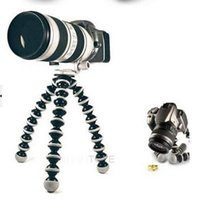 Wholesale HOT SALE Flexible Universal Digital Camera Bubble Tripod Stand Mini Holder Total Size S M L size
