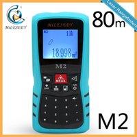 Wholesale Mileseey M2 Handheld Rangefinder Laser Distance Meter Digital Laser Range Finder Laser Tape Measure M
