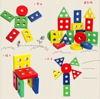 baby planning - Baby Toy Education Wooden Toys Plan Toy Geometric Sorting Board Wooden Blocks Baby Building Blocks Birthday Gift