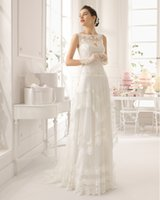 Wholesale Julie Fall Winter Bridal Gowns Sweetheart Fit and Flare Train Sexy Hollow Lace Long Tulle Sleeveless Cheap Wedding Dresses Gown HL1708