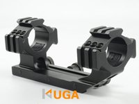 arms tactical mounts - Tactical mm One piece Rings Mount See Through With Tri Rail Cantilever Arm Fit Picatinny Solid Rail Handguard