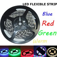 leds waterproof flexible waterproof led strip - m SMD RGB V Waterproof Non waterproof Led flexible strips light Leds M double side good quality
