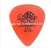 Wholesale 72 piece guitar picks Dunlop Tortex picks Orange mm Picks