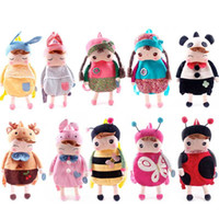 Wholesale style Popular Metoo backpacks meters rabbit Angela shoulders bag backpack plush school bag girls toys