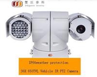 Wholesale FG X TVL Vehicle IR PTZ Camera RS485 control IP66 weather protection