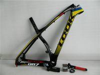 Wholesale New arrival carbon fiber frames MTB or carbon Mountain bike frame with carbon stem ER or er MTB bicycle frameset