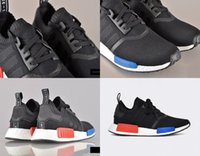 Wholesale 2016 New AD Originals NMD Runner_R1 Limited Black RED White Blue casual sneaker men woman size36 hot frees hipping