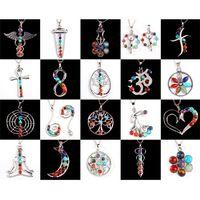 Celtic beautiful energy - 2015 New Beautiful Chakra Beads Positive Energy Reiki Pendulum Metal Pendant Charms Health Amulet Fashion Jewelry Mix