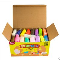 Wholesale g color DIY D Colored Clay Toys Sand colors Kids Modelling Play Indoor Clay