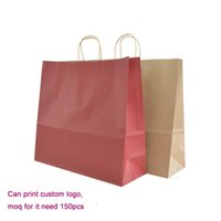Wholesale Eco friendly High quality big size paper bag x40x14 cm