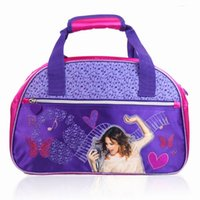 Wholesale Women Portfolios Bolsa Saco Luggage travel duffle bag Violetta Tote Mochila Gym bags Sport Trunk bag for Stuff Oxford purple