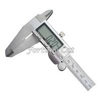 Wholesale 0 mm Stainless Steel Electronic Digital Vernier Caliper Rule Micrometer Gauge measuring Instrument