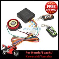 Wholesale Scooter Motorcycle Bike Alarm System Moto Anti theft Security Alarm Protection with Button Remote Control v Universal order lt no track