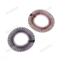 Wholesale factorysale Sport Plastic Stretch Hair Band Full Circle Flexible Comb Teeth Headband Clip High Quality