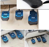auto brake pad - Metal anti skid car pedal gas Brake pad cover accelerator for MT AT most of cars auto parts