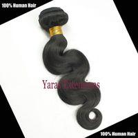 Wholesale 6A Brazilian Virgin Human Hair body Wave or Lace Closure