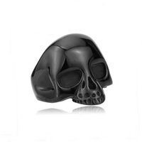 american indian nations - 5Pc New Unisex Punk Gothic Stainless Steel Carved Skull Nation Charm Finger Ring Jewelry