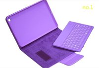 Wholesale 50X For iPad Mini Keyboard Case New Detachable Wireless Bluetooth Keyboard Leather Cases For iPad Mini Colors EPAD JP
