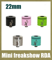Freakshow mini France-<b>Freakshow Mini</b> RDA reconstructible Dripping atomiseur Mini Freakshow contrôle vaporisateur d'air pour 18650 mécanique Mod VS petit garçon ATB282