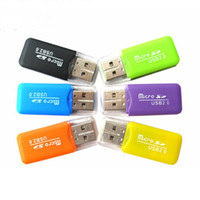 Wholesale USB Card Reader TF Dedicated Drive Free Mini Card Reader High Quality Micro SD Memory Card Reader Hot Sale