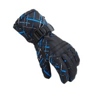 Wholesale Dropshipping New men s ski gloves Snowboard gloves Snowmobile Motorcycle Riding winter gloves Windproof Waterproof snow gloves