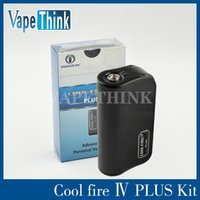 Cheap 100% Original Innokin Cool Fire Iv Plus Express Kit 70w Box Mod With Charing 3300MAH Capacity From Vapethink