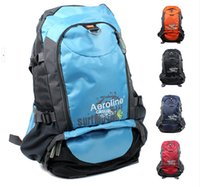 Wholesale 2015 Hot Promotion L Waterproof Backpack Outdoor Sport Rucksacks Nylon Camping Daypack Hiking Travel Bags DBB011 Freeshipping
