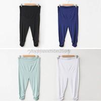 leggings pregnant - Hot New Belly Pants Pregnant Women Maternity Clothes Harem Pants Leggings Trousers US