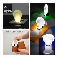 atmosphere wallet - Hot sale led wallet credit card led light Portable Mini Novelty led light pocket led credit card led light