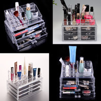 Wholesale Top Quality Thick PS Transparent Cosmetic Organization Make Up Orangizer Box Home Storage Box Various For Organizer Home Decoration