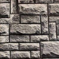 2015 3D brique classique vintage pierre d'ardoise fond d'écran papier peint de vinyle de qualité pour fond de TV