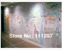 Wholesale cm cm whiteboard stickers chalkboard card lovely stationery memo children gift sets white board to stick