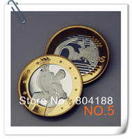 Wholesale Newest Products Make love Sexy Coins Euros sex coins pure silver and gold Clad Round coins