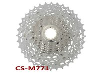 Cheap DEORE XT CS-M771 10s Cassette Sprockets bike bicycle freewheel flywheel Cassettes for xt groupset 32 34 36T