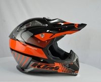Wholesale High End Motocross Helmet Downhill KTM Motor Helmet DOT Approved Capacetes Casco KTM undrape surface helmet lens motorcycle helmet