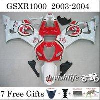 beta motorcycle - Fit SUZUKI GSX R1000 GSXR1000 GSXR K3 Racing Cowling Red White Motorcycle Fairing Kit Lucky Strike Motul Beta Gifts