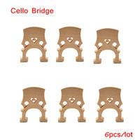 Wholesale High Quality Cello Bridge Maple Exquisite Workmanship Cello Accessories for Size Cello Retail