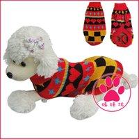 Оптово-Hot In Ru / Br, предоставляющие свитер 2015 высокий воротник, любимая одежда, домашнее животное пальто для собаки или кошки, T-Shirt, 4 размеров SML XL красный, синий, черный