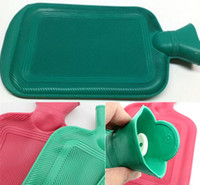 Wholesale Home Necessary Home Outdoor Rubber HOT WATER BOTTLE Bag Warm Relaxing Heat Cold Therapy A3